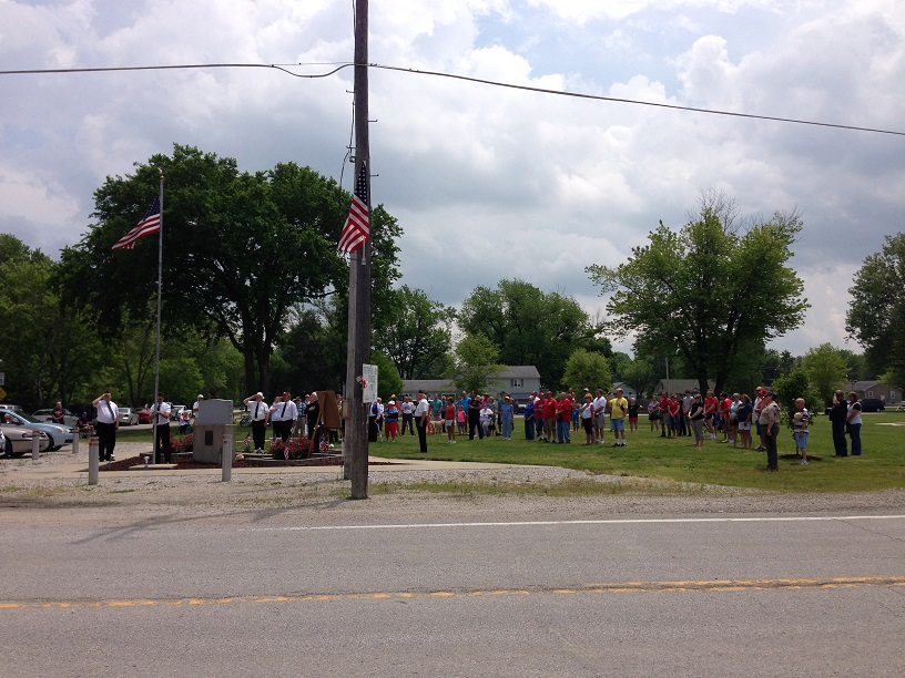 Memorial Day Service at West Alton Memorial Park
